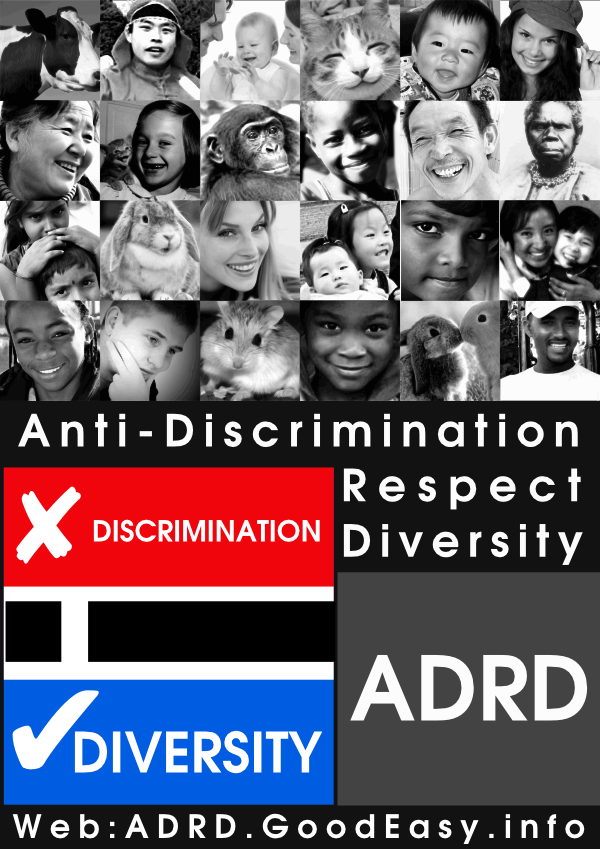 Poster about diversity